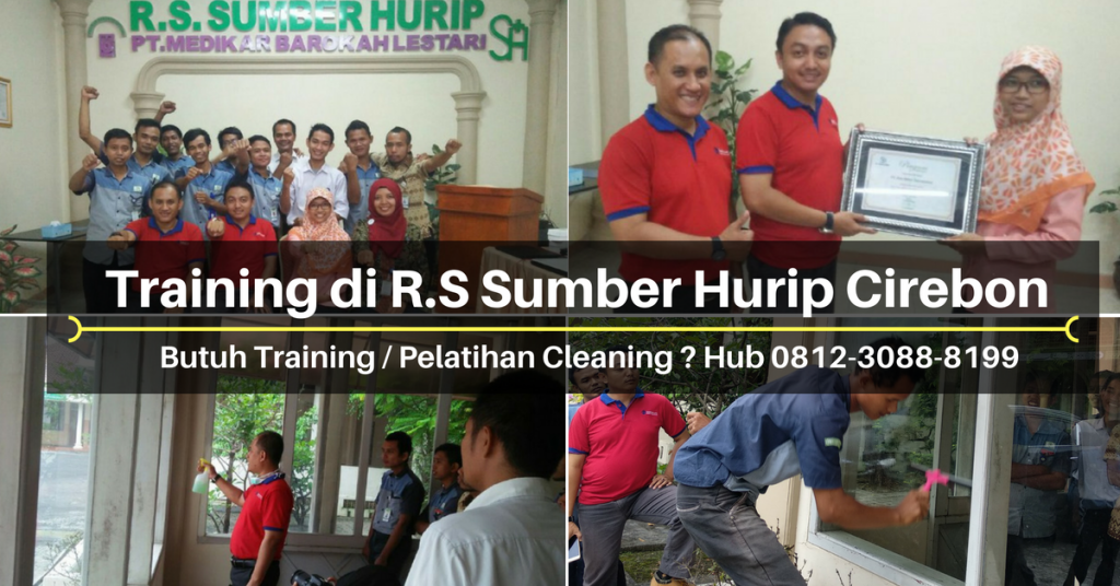 Training Cleaning - RS Sumber Hurip Cirebon