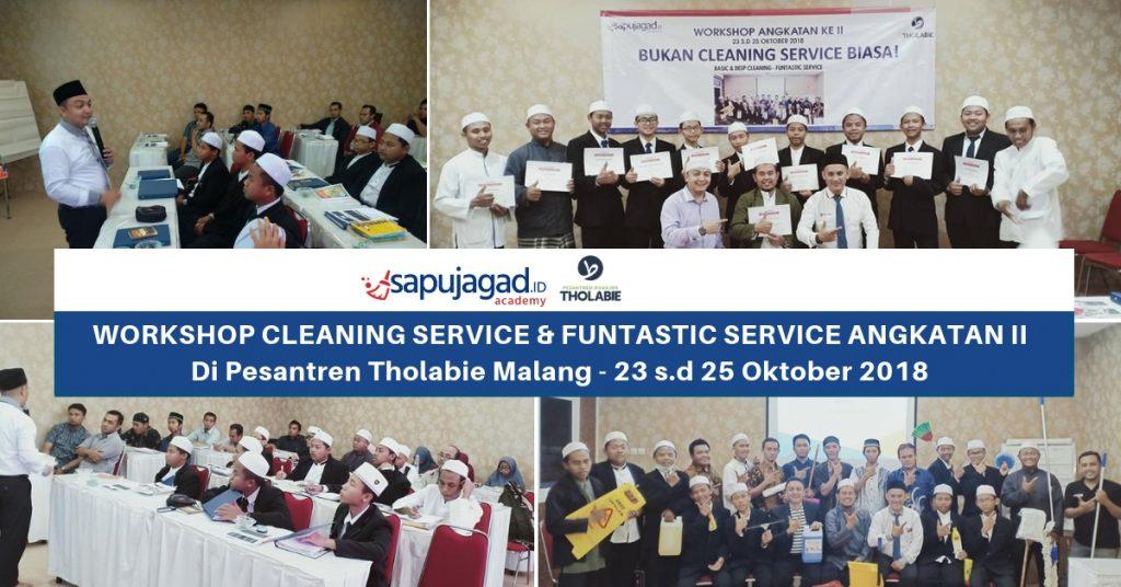 Pelatihan-cleaning-service-pesantren-tholabie-malang