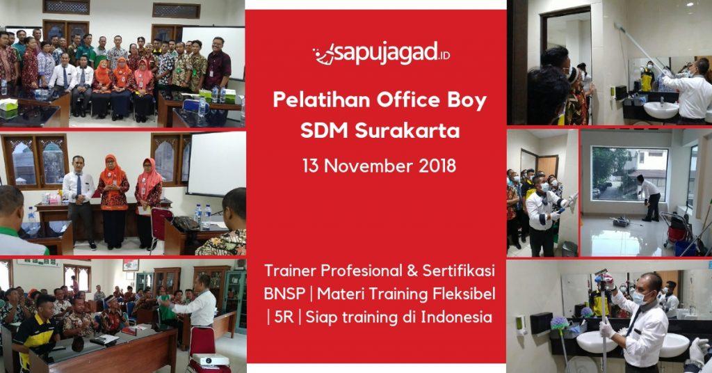 Pelatihan Office Boy di Surakarta