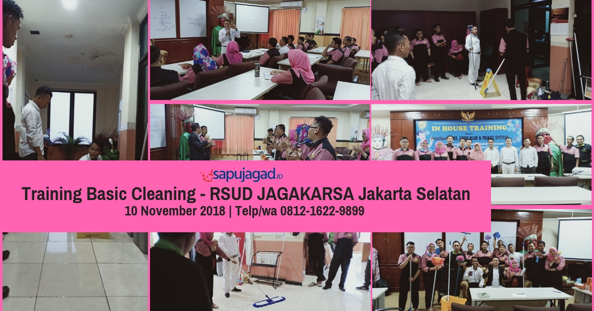 Training Basic Cleaning - RSUD Jagakarsa Jaksel