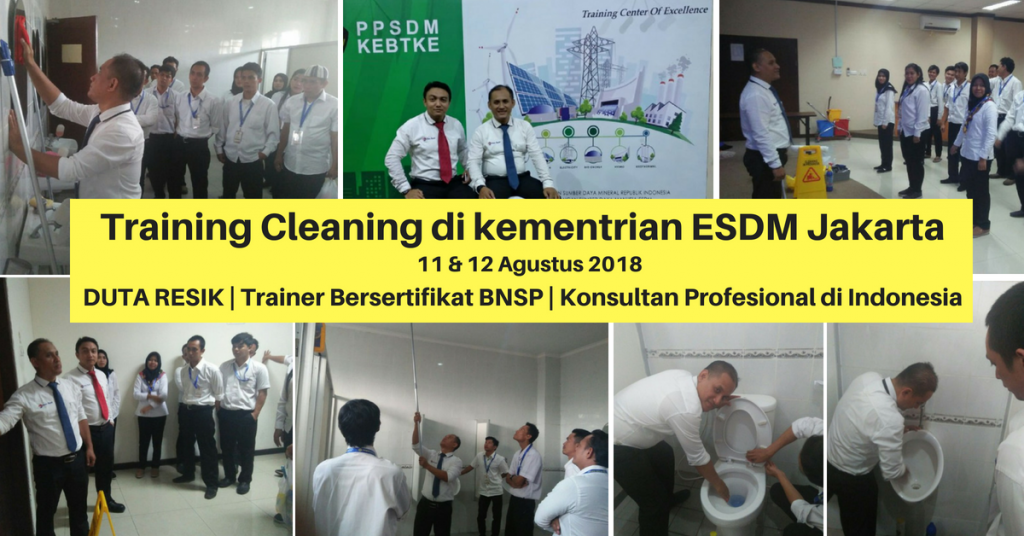 Training Cleaning - ESDM JKT