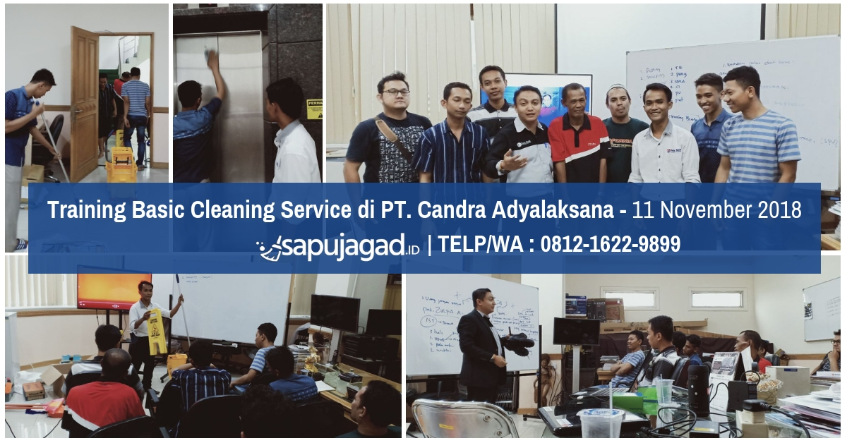 Training Office Boy di PT. Candra Adyalaksana