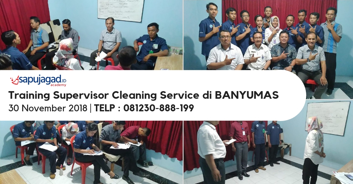 Training Supervisor Cleaning Service di Banyumas