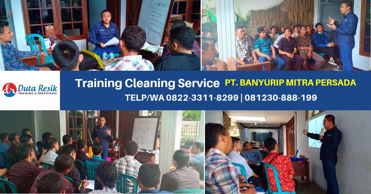 Training Basic Cleaning Service - PT. Banyurip Mitra Persada