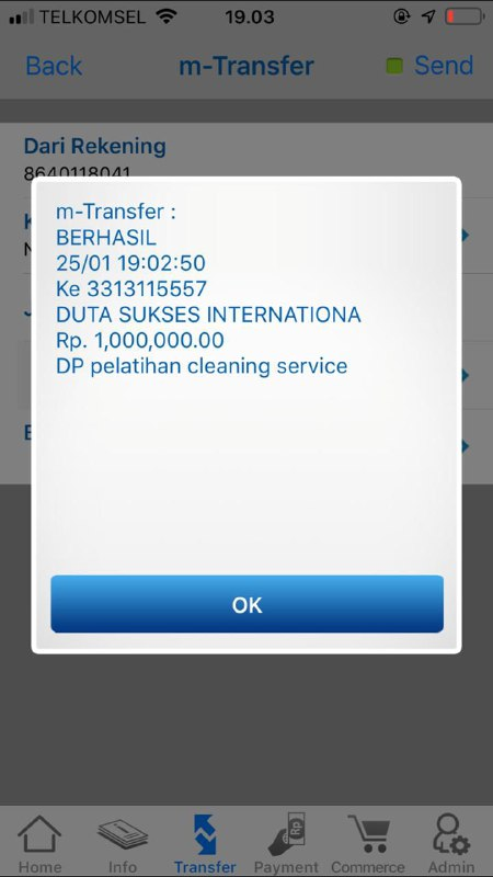 DP Pelatihan Cleaning Service