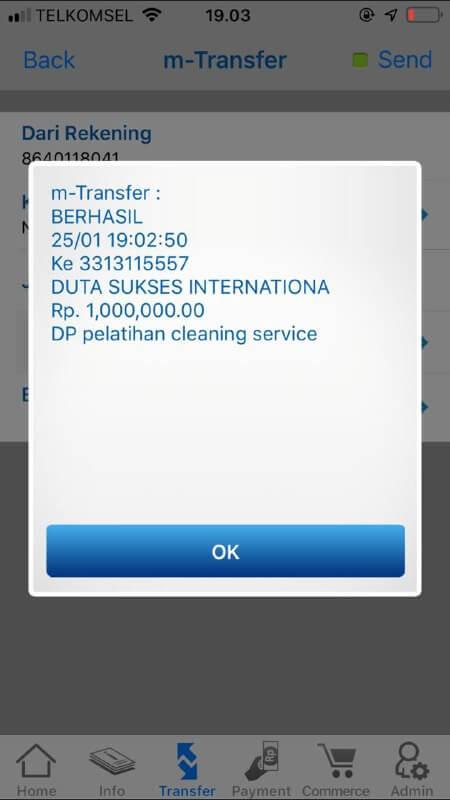 DP Pelatihan Cleaning Service