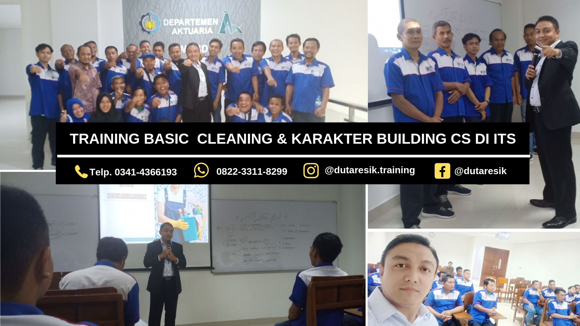 Training Basic Cleaning & Karakter Building CS ITS