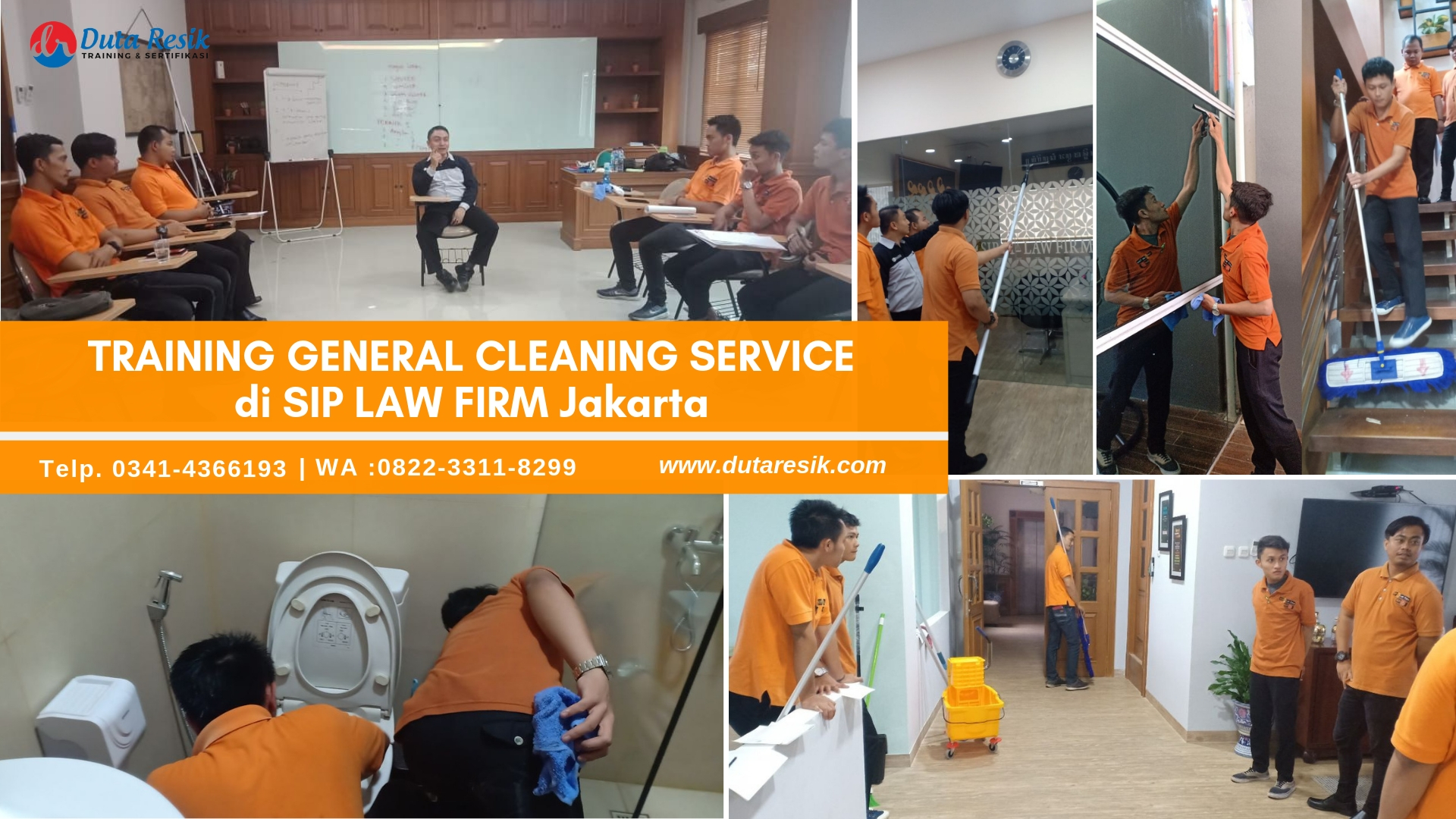 Training General Cleaning di SIP Law Firm
