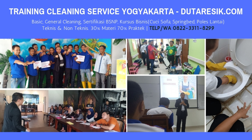 Training Cleaning Service yogyakarta