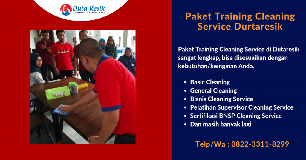 Paket Training Cleaning Service Dutaresik