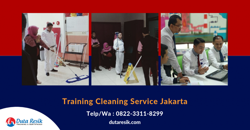 Training Cleaning Service Jakarta