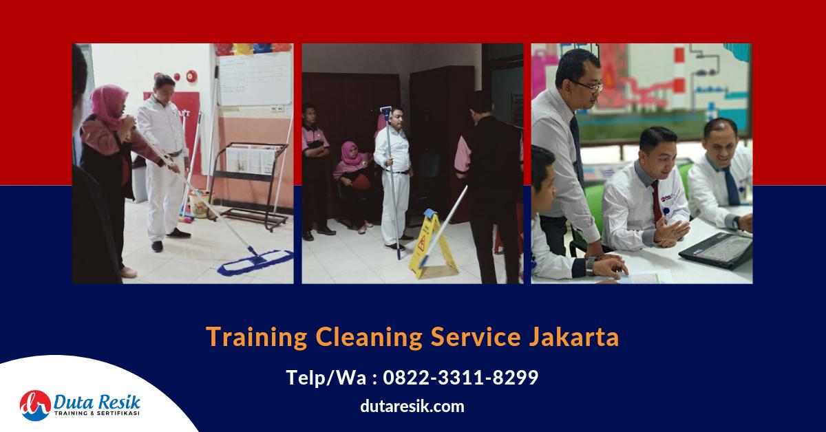 Training Cleaning Service Jakarta