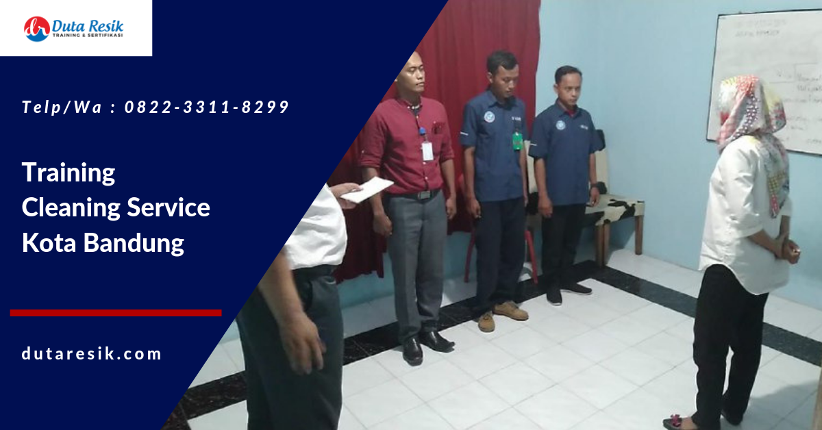 Training Cleaning Service Kota Bandung