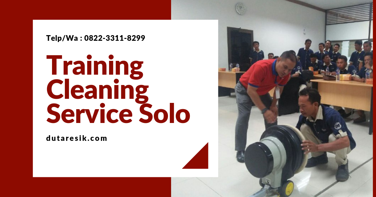 Training Cleaning Service Solo