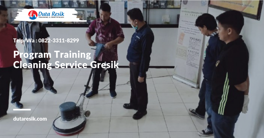 Program Training Cleaning Service Gresik