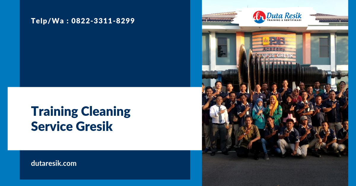 Training Cleaning Service Gresik