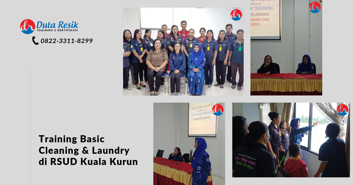 training basic cleaning service dan laundry