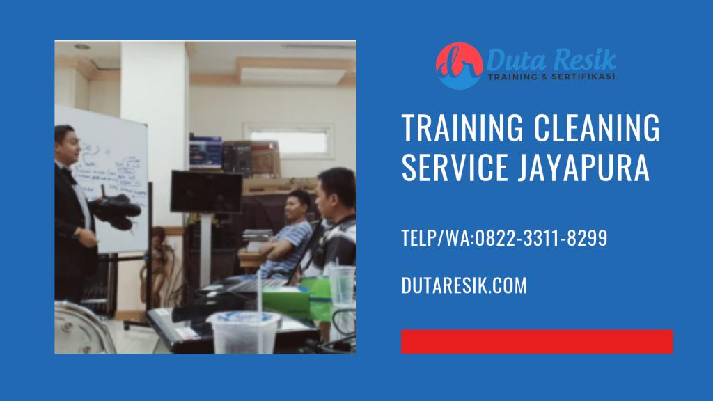 Training Cleaning Service Jayapura