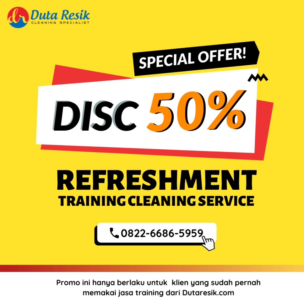 promo refreshment training cleaning