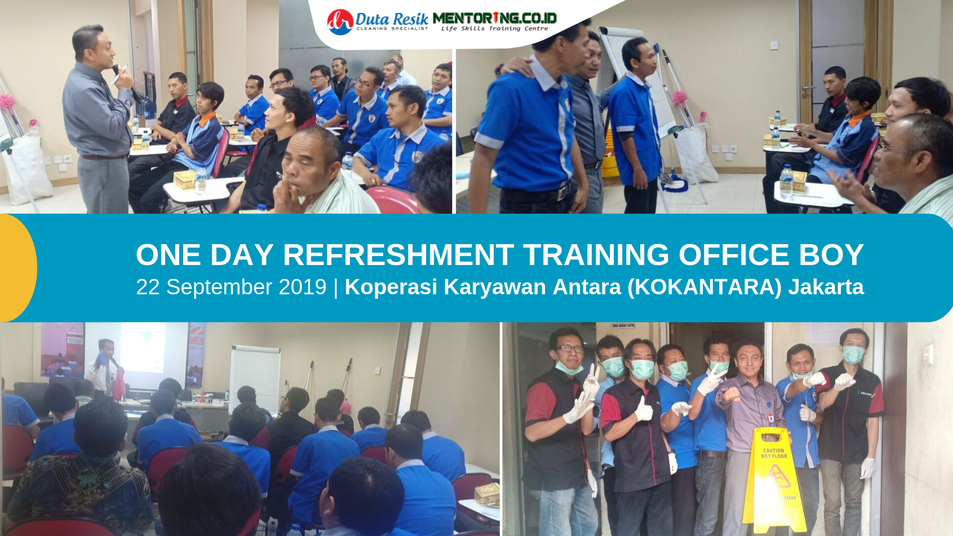 training cleaning service palembang