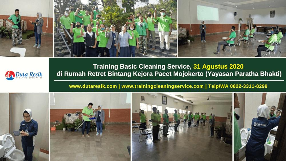 Pelatihan Cleaning Sevice Mojokerto